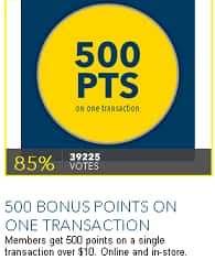 Best Buy Reward Zone: 500 Bonus Points w/ $10 Purchase