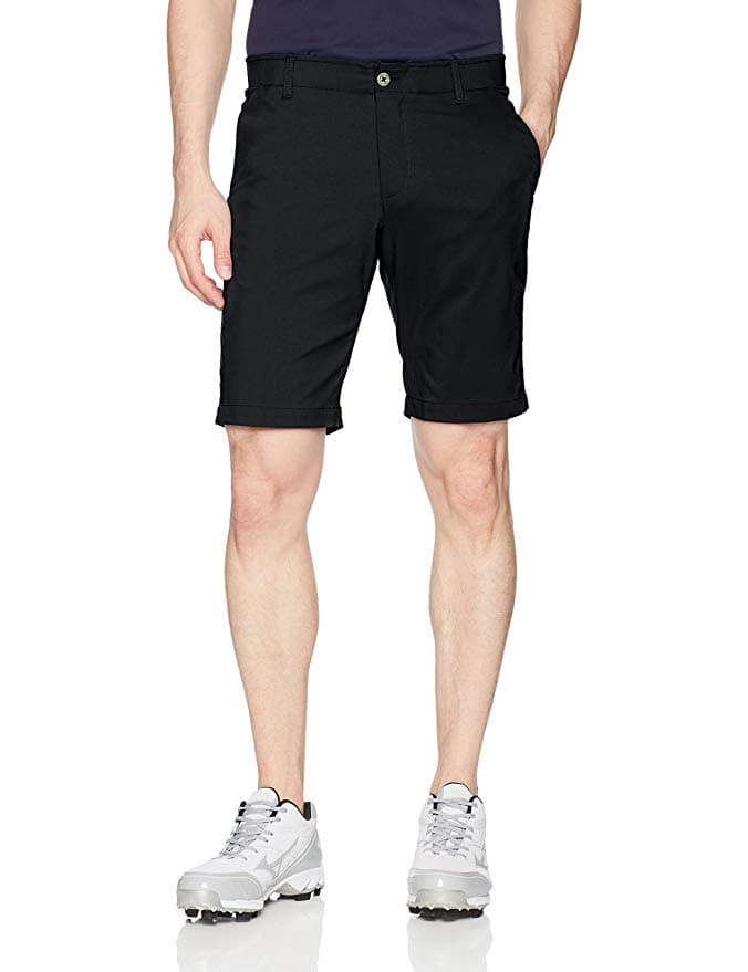 Under Armour Men's Showdown Tapered Golf Shorts. Size 38 ONLY, Color Black ONLY $25.76 @ Amazon.com. HOT!