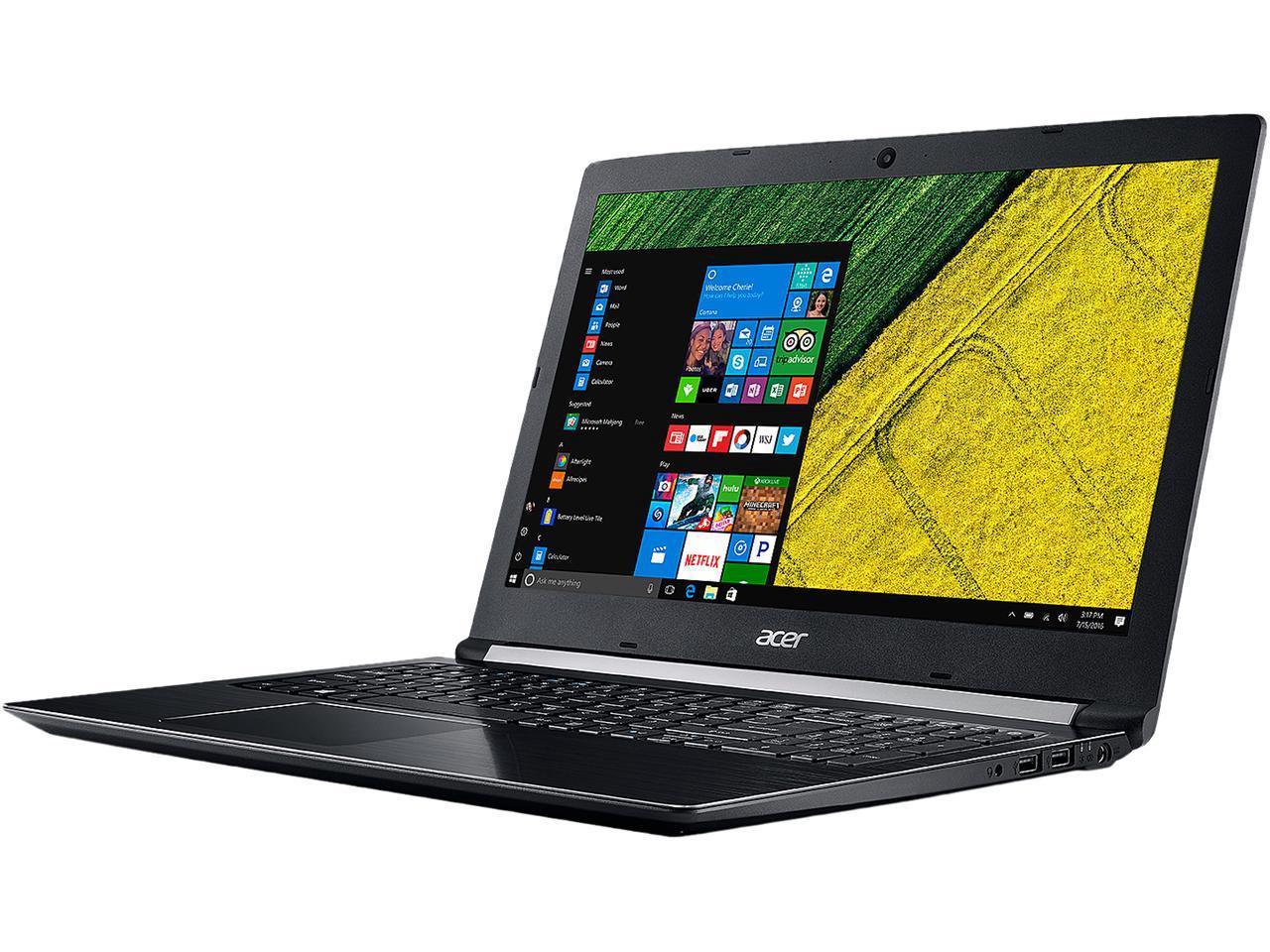 "Acer Laptop Aspire 5 Intel Core i7 8th Gen 8550U (1.80 GHz) 8 GB Memory 256 GB SSD NVIDIA GeForce MX150 15.6"" Windows 10 Home 64-Bit A515-51G-89LS $599"