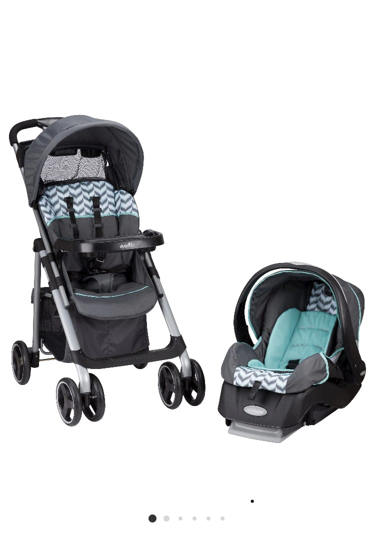 Evenflo newborn car seat/stroller combo at Target $106.99 or less