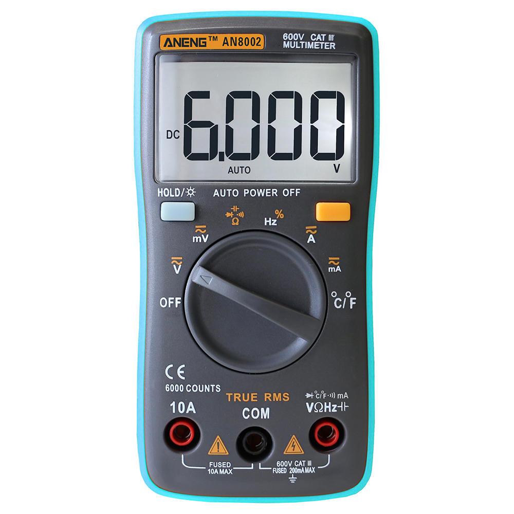 True RMS 6000 Counts Autoranging Multimeter - $13.88 +FS
