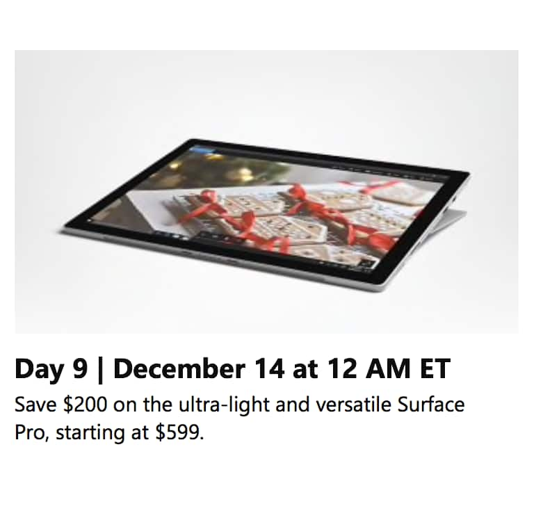 Surface Pro - starting at $599