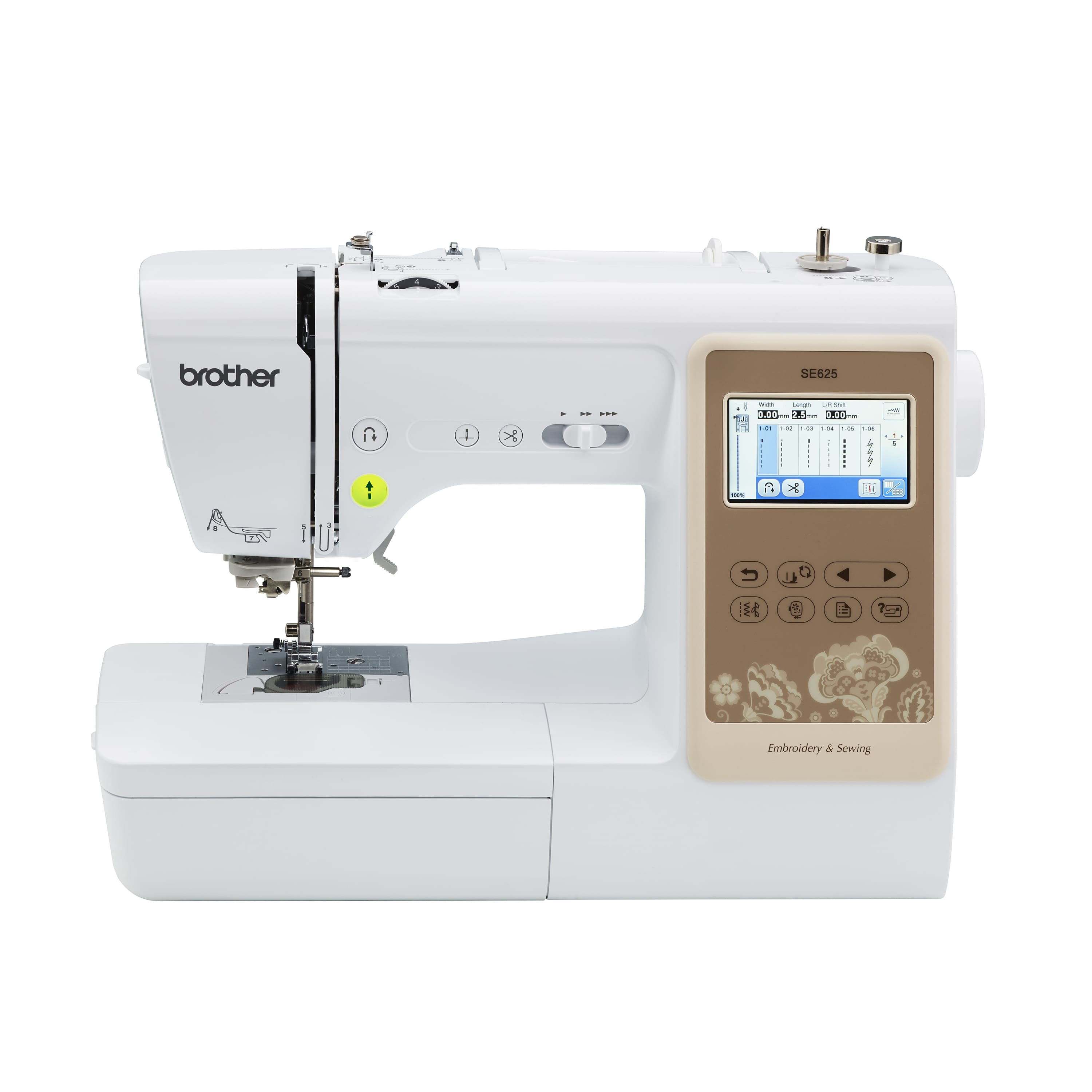 Brother SE625 Combination Computerized Sewing and 4x4 Embroidery Machine $289.99