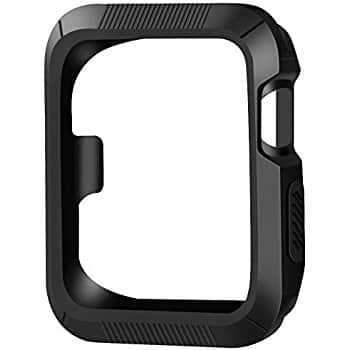 OULUOQI for Apple Watch Case 42mm + OULUOQI for Apple Watch Band 42mm $6.99 at Amazon