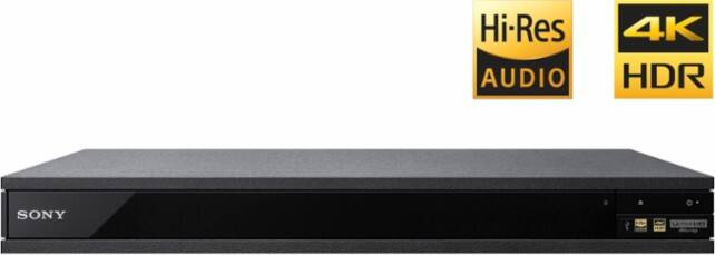 Sony - Refurbished UBP-X800 - Streaming 4K Upscaling 3D Wi-Fi Built-In Blu-Ray Player $159.99
