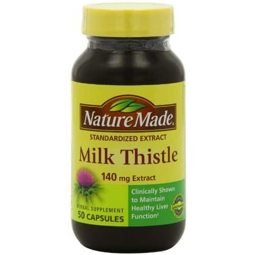 Nature Made Milk Thistle 140 mg Capsules 50 Ct $5.79 add on item@amazon