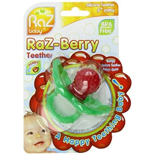 RaZ-Berry Silicone Teether Red $3.54 add on item@amazon