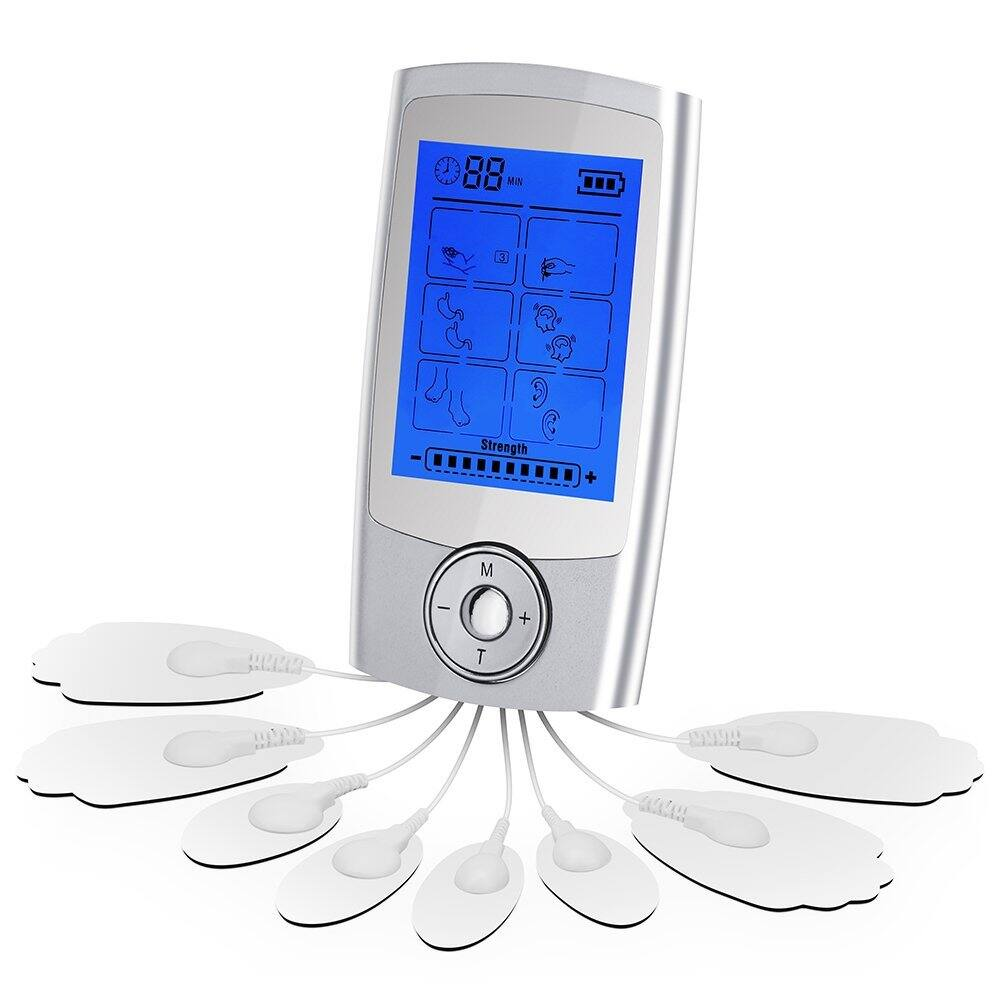 Rechargeable 16 Modes Tens Unit with 8 Pads $19.5@amazon