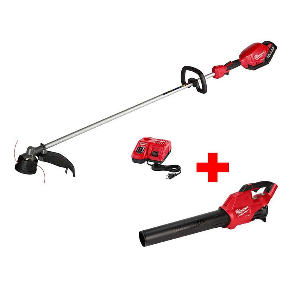 M18 FUEL 18-Volt Lithium-Ion Brushless Cordless 16 in. String Trimmer 9.0Ah Kit  Plus Other tool or battery $299 + FS