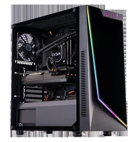 ABS Gladiator Gaming PC - Intel i7 10700KF - GeForce RTX 3070 8GB - 16GB DDR4 3200MHz - 1TB M.2 NVMe SSD - EVGA CLC 280MM RGB AIO - Windows 10 Home 64-bit $1699