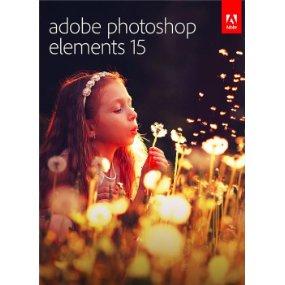 Adobe Photoshop Elements 15 PC/Mac $39.99 at Amazon