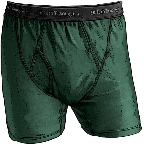 Duluth Trading: Men's buck naked boxer-briefs $15, Armachillo boxer-briefs $18, Free shipping on $75+, more