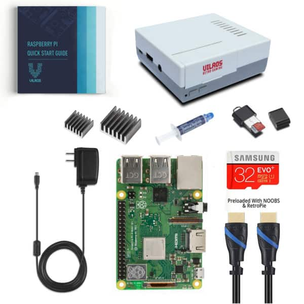 32GB Vilros Raspberry Pi 3 Model B+ Complete Starter Kit