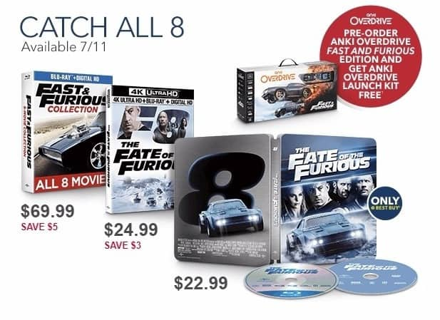 Best Buy Weekly Ad: Fast & Furious Collection Blu-ray+Digital for $69.99