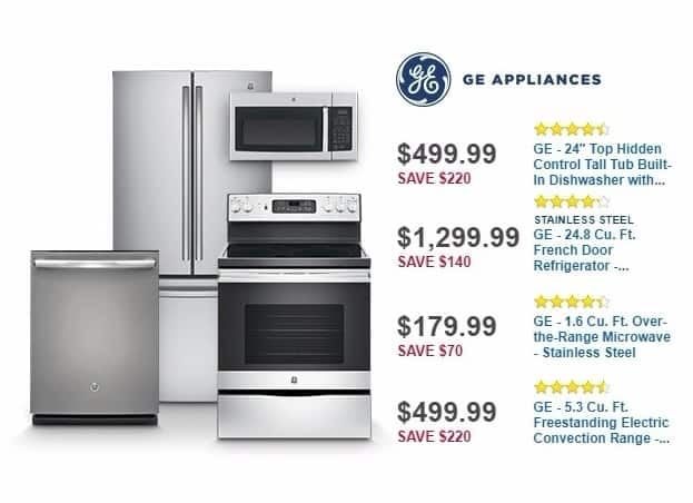 Best Buy Weekly Ad: GE 4-Cycle Dishwasher with Top Controls for $549.99