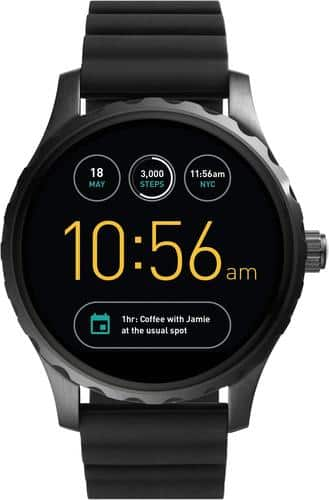 Best Buy Weekly Ad: Fossil Q Marshal Smartwatch for $191.25