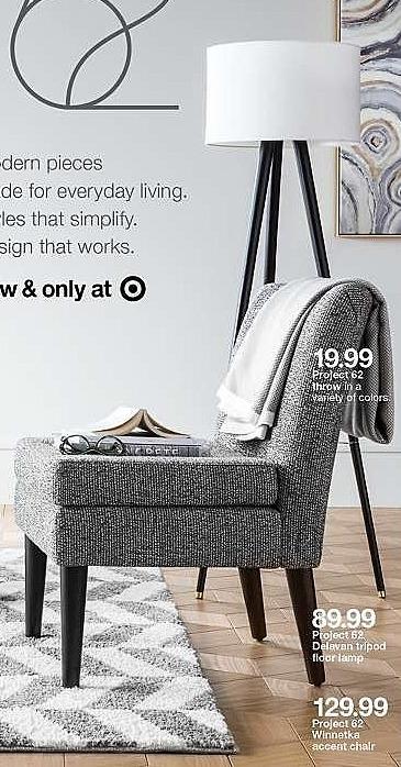 Target Weekly Ad: Delavan Tripod Floor Lamp - Project 62™ for $79.99