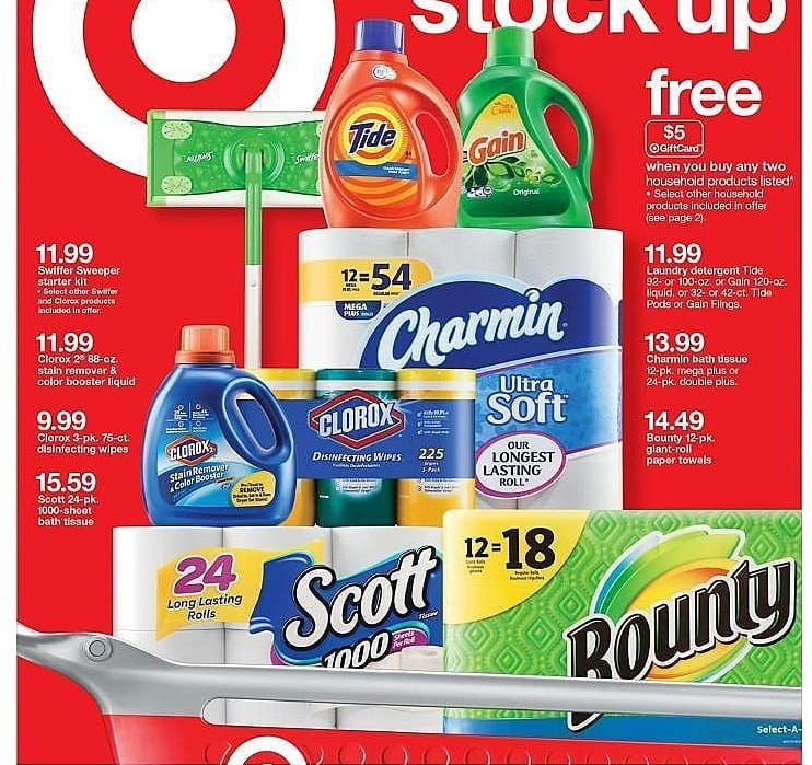 Target Weekly Ad: Swiffer® Sweeper Floor Mop Starter Kit for $11.99