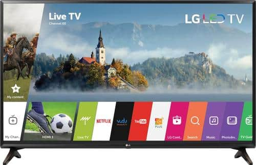 "Best Buy Weekly Ad: LG - 49"" Class LED 1080p Smart HDTV for $349.99"