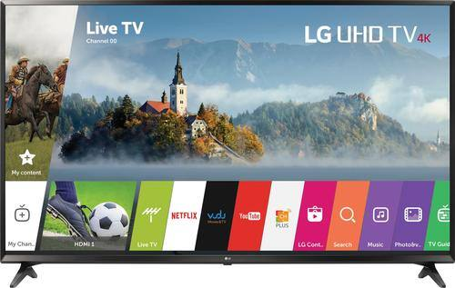 """Best Buy Weekly Ad: LG - 55"""" Class LED 4K Ultra HD Smart TV for $649.99"""