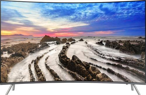 "Best Buy Weekly Ad: Samsung - 65"" Class Curved LED 4K Ultra HD Smart TV with High Dynamic Range for $1,599.99"