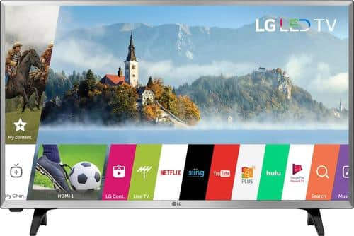 """Best Buy Weekly Ad: LG - 32"""" Class LED 720p Smart HDTV for $179.99"""