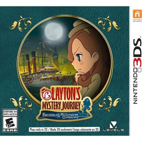 Best Buy Weekly Ad: Layton's Mystery Journey: Katrielle and the Millionaires' Conspiracy - 3DS for $39.99