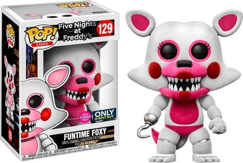 Best Buy Weekly Ad: Funko Pop! Games Five Nights at Freddy's: Sister Location: Funtime Foxy for $11.99