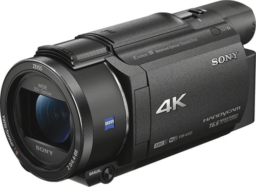 Best Buy Weekly Ad: Sony AX53 4K Flash Memory Camcorder for $849.99