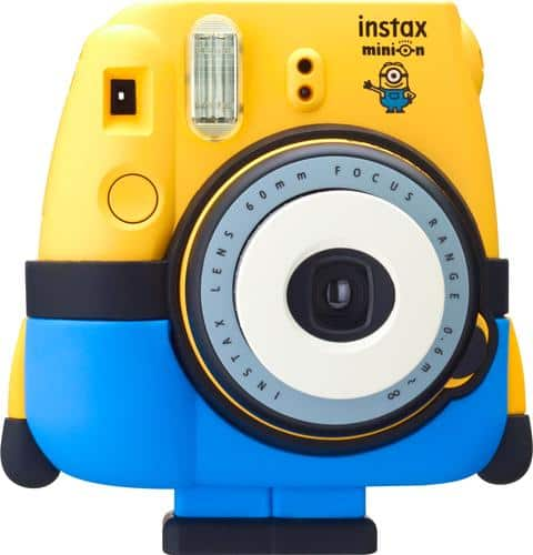 Best Buy Weekly Ad: Fuijifilm - instax mini 8 Minion Instant Print Camera for $79.99
