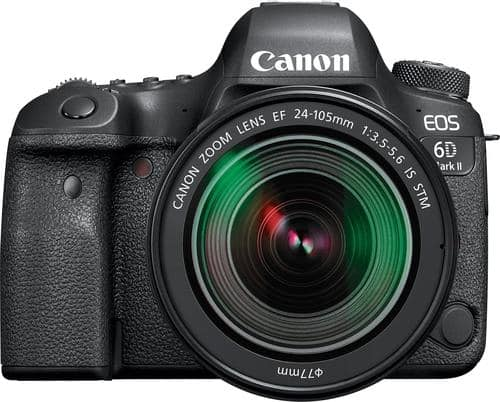 Best Buy Weekly Ad: Canon EOS 6D Mark II 24-105mm DSLR Camera for $2,599.99