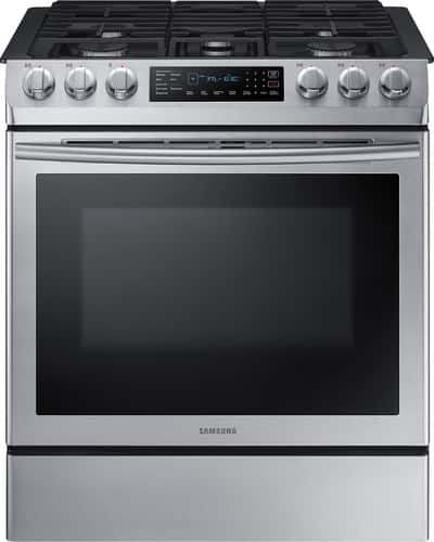 Best Buy Weekly Ad: Samsung - 5.8 cu. ft. Gas Slide-In Convection Range for $1,299.99