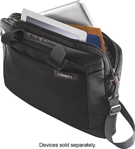 Best Buy Weekly Ad: Samsonite Laser Pro Slim Briefcase - Black for $29.99