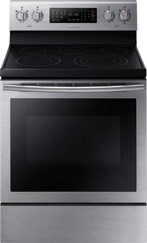 Best Buy Weekly Ad: Samsung - 5.9 cu. ft. Electric Convection Range for $699.99
