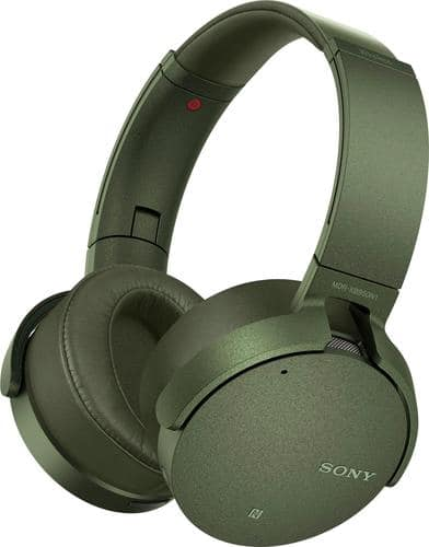 Best Buy Weekly Ad: Sony XB950N1 Wireless Noise-Cancelling Headphones - Green for $179.99