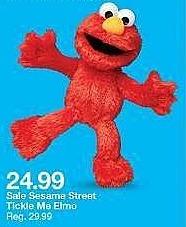 Target Weekly Ad: Playskool Friends Sesame Street Tickle Me Elmo for $24.99