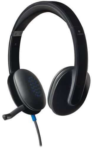 Best Buy Weekly Ad: Logitech H540 On-Ear USB Headset for $29.99
