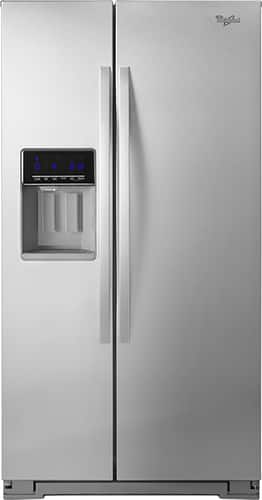 Best Buy Weekly Ad: Whirlpool - 20.6 cu. ft. Counter-Depth Side-by-Side Refrigerator for $1,249.99