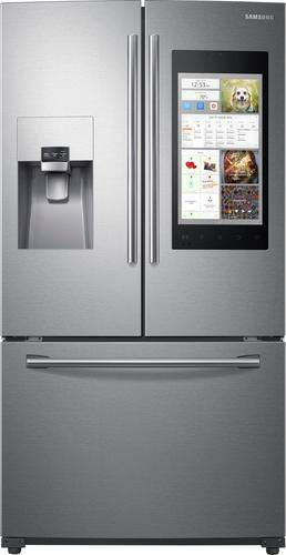 Best Buy Weekly Ad: Samsung - Family Hub 2.0 24.2 cu. ft. French Door Refrigerator for $2,299.99