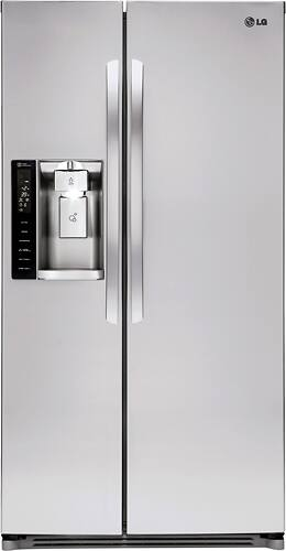 Best Buy Weekly Ad: LG - 26.2 cu. ft. Side-by-Side Refrigerator for $1,299.99