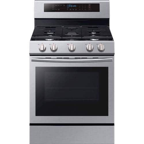 Best Buy Weekly Ad: Samsung - 5.8 cu. ft. Gas Convection Range for $799.99