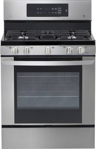 Best Buy Weekly Ad: LG - 5.4 cu. ft. Gas Range for $649.99