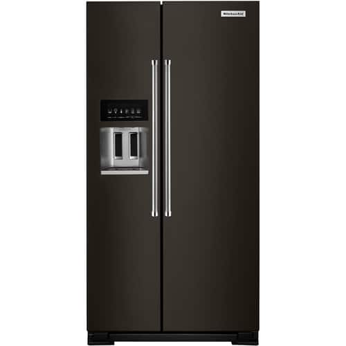 Best Buy Weekly Ad: KitchenAid - 22.6 cu. ft. Side-by-Side Counter-Depth Refrigerator for $2,299.99