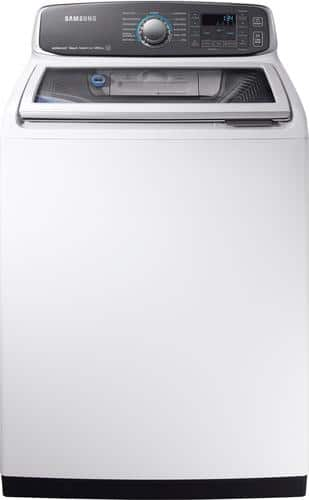 Best Buy Weekly Ad: Samsung - 5.2 cu. ft. 13-Cycle High-Efficiency Washer with Activewash and Steam for $699.99