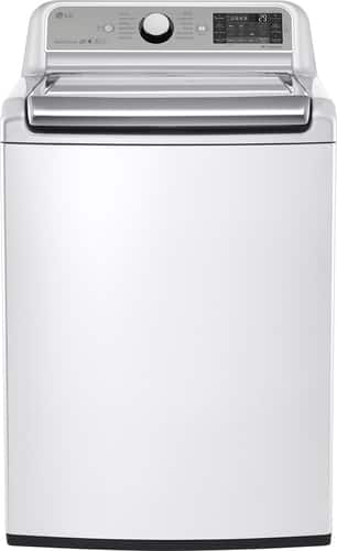 Best Buy Weekly Ad: LG - 5.2 cu. ft. 12-Cycle Super Capacity Top-Load Washer for $749.99