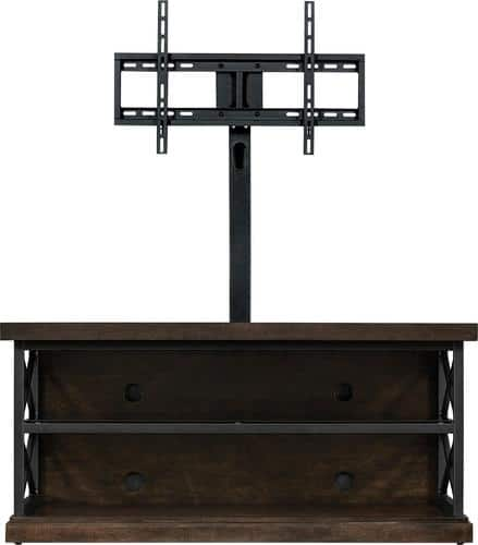 "Best Buy Weekly Ad: Bell'O Triple Play TV Stand for Most TVs up to 55"" - Brown for $299.99"