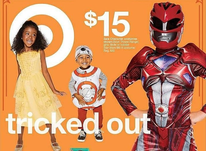 Target Weekly Ad: Beauty and the Beast® Girls' Classic Belle Costume for $15.00
