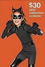 Target Weekly Ad: DC® Superhero Girls Catwoman Deluxe Costume for $30.00