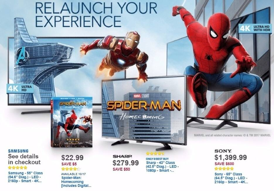 "Best Buy Weekly Ad: Samsung 55"" Class LED 4K Ultra HD Smart TV for $699.99"