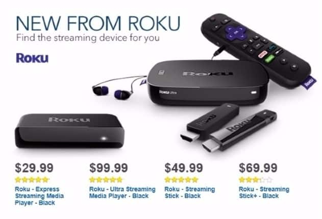 Best Buy Weekly Ad: Roku Stick for $49.99